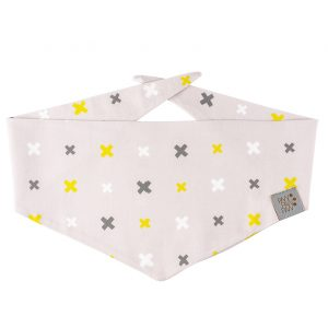 Dog Bandana Lemon PREMIUM 2